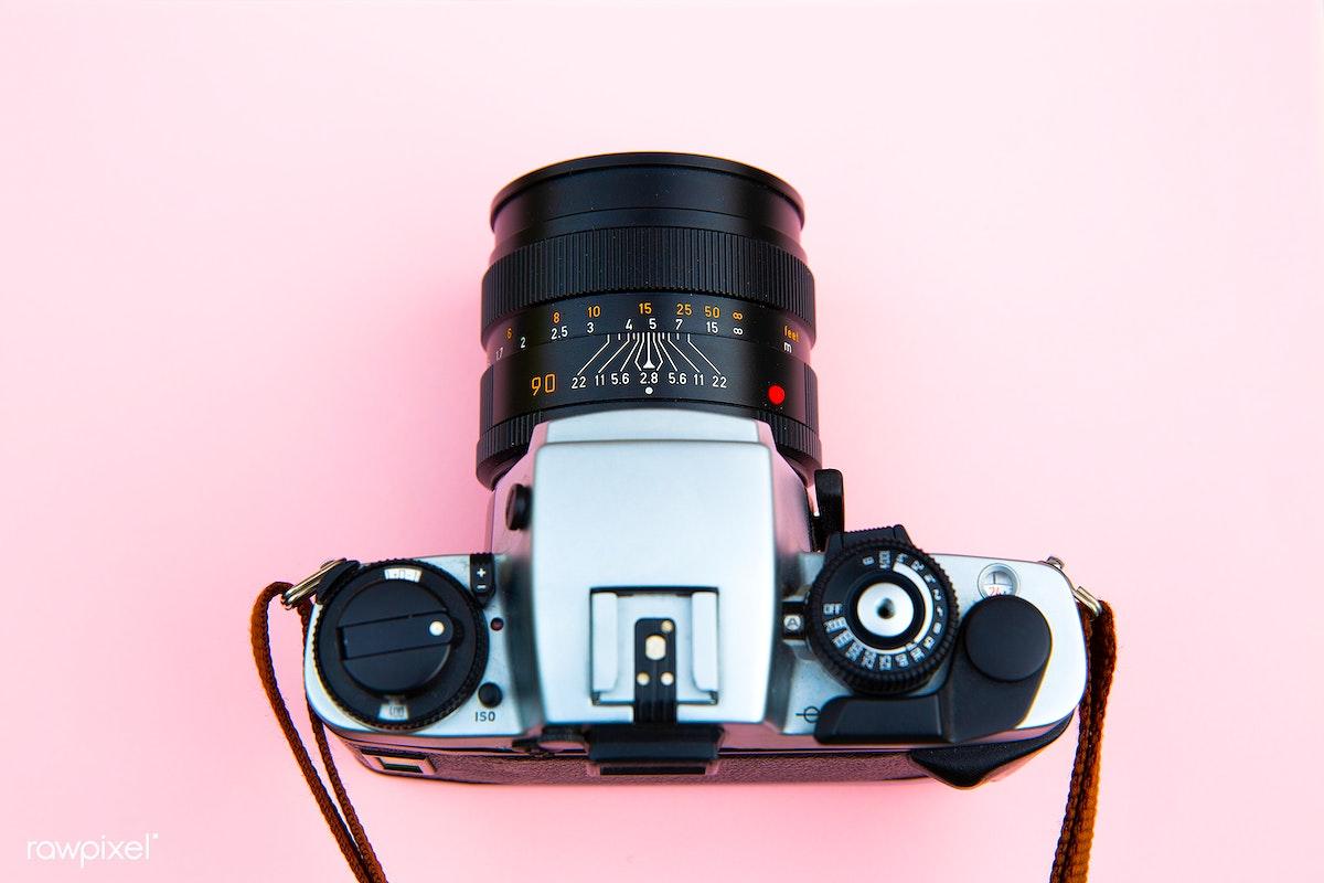 Analog film camera | Free public domain photo - 432177