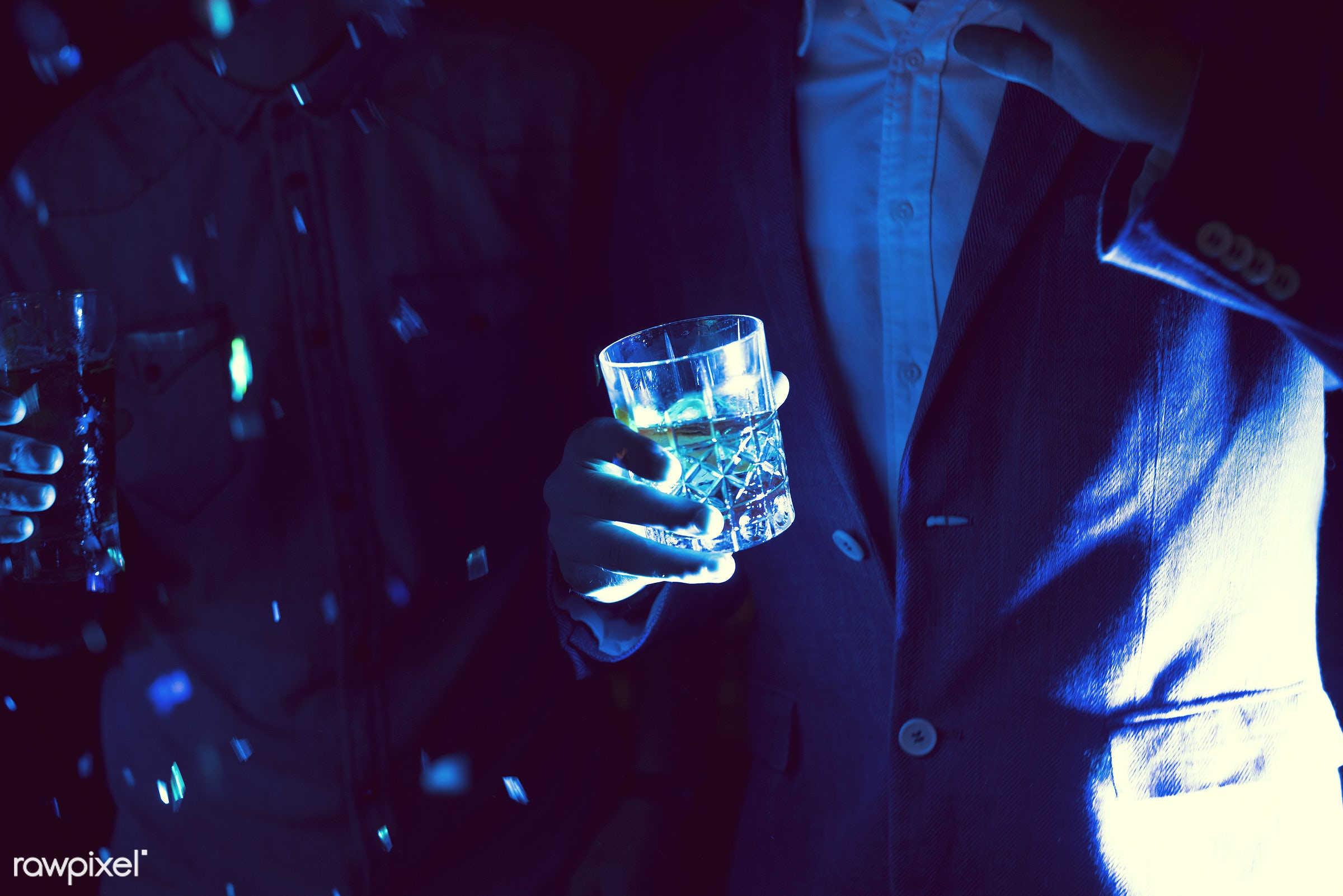 People having fun in a party - alcohol, birthday, 2018, alone, beverage, birthday party, brandy, celebrate, celebration,...