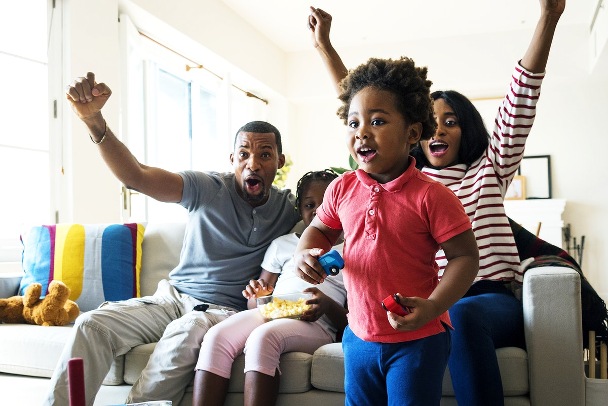 Black Family Watching Tv Images | Free Photos, PNG Stickers, Wallpapers &  Backgrounds - rawpixel