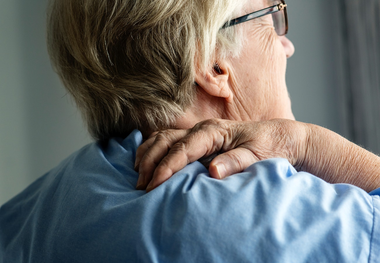 Woman With Back Pain Royalty Free Photo 383924