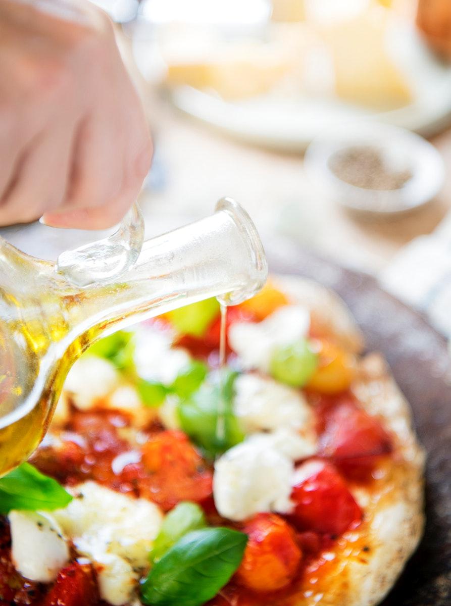 Pizza photography recipe idea