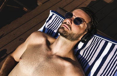 Image result for free images of man tanning