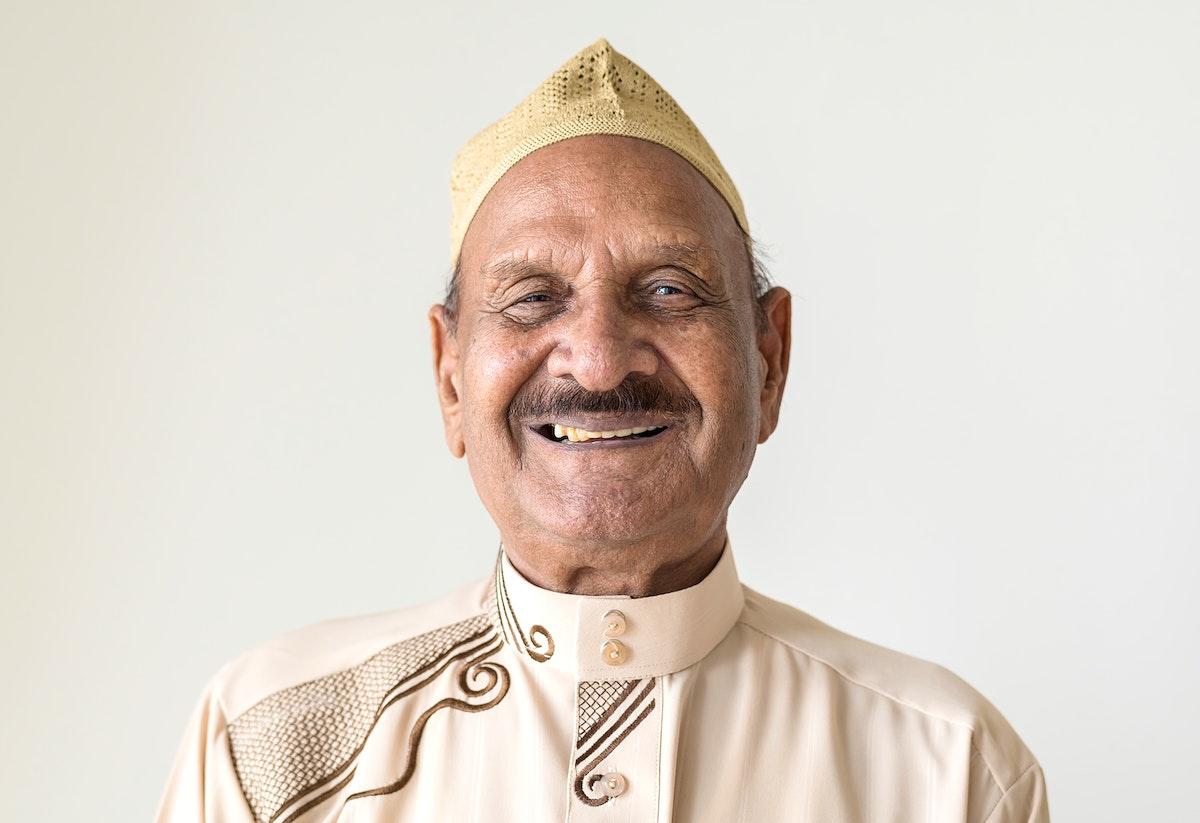 Portrait of a Muslim man