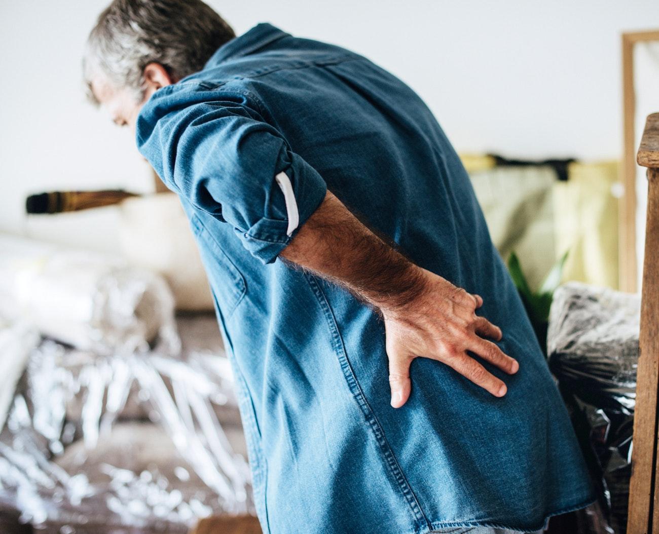 Senior Man Having Back Pain Royalty Free Photo 527927