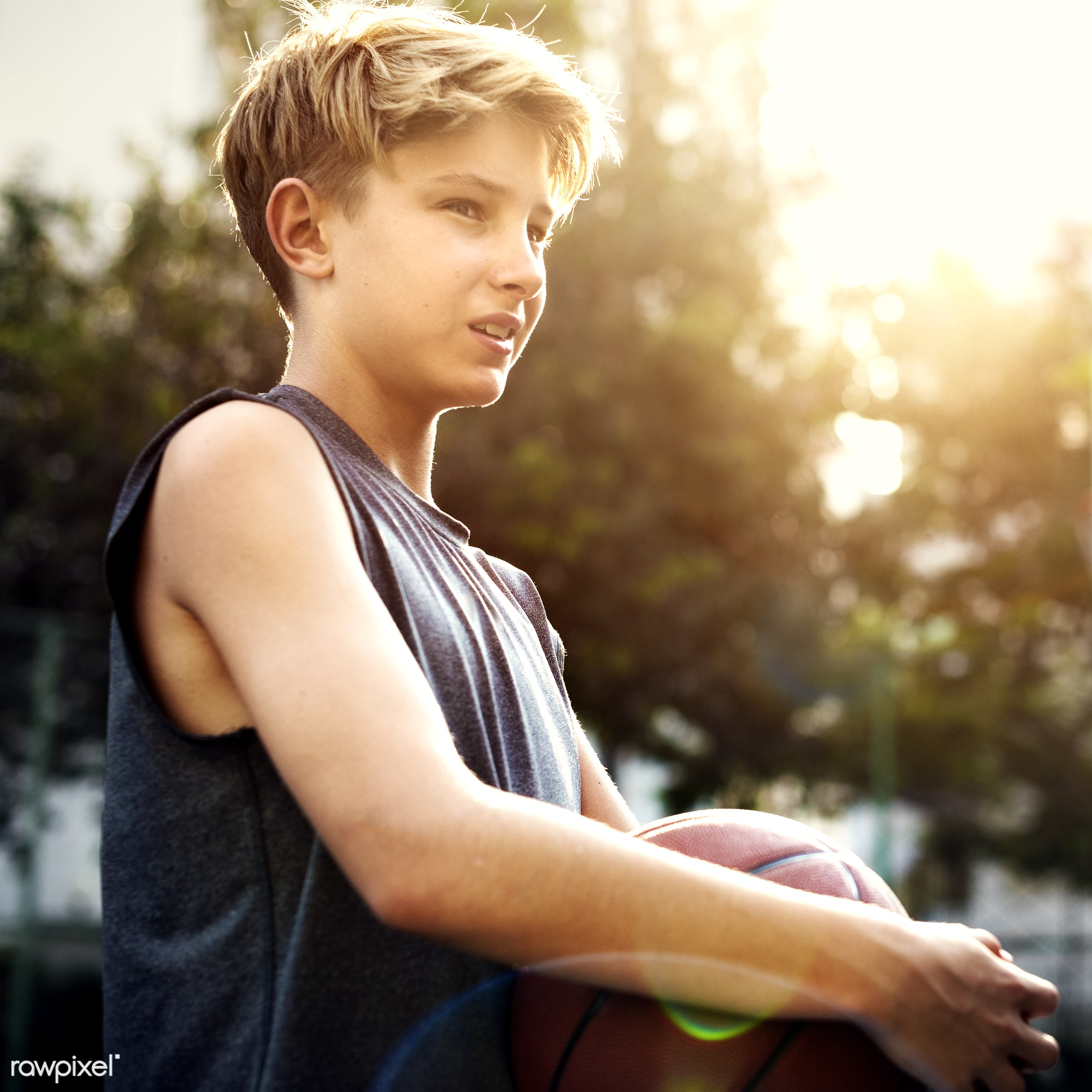 boy, basketball, activity, alone, caucasian, exercise, game, gymnasium, man, one, play, player, practice, shoot, sport,...