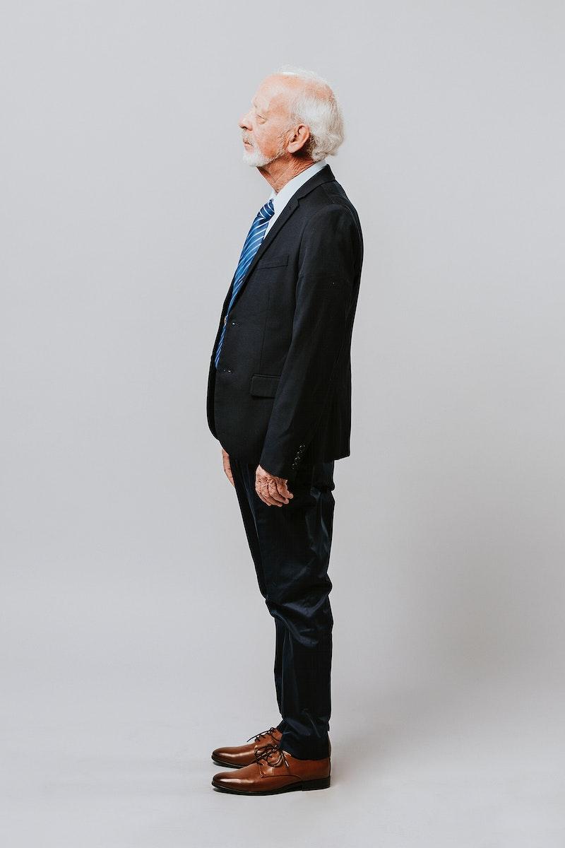 Businessman adult portrait occupation concept