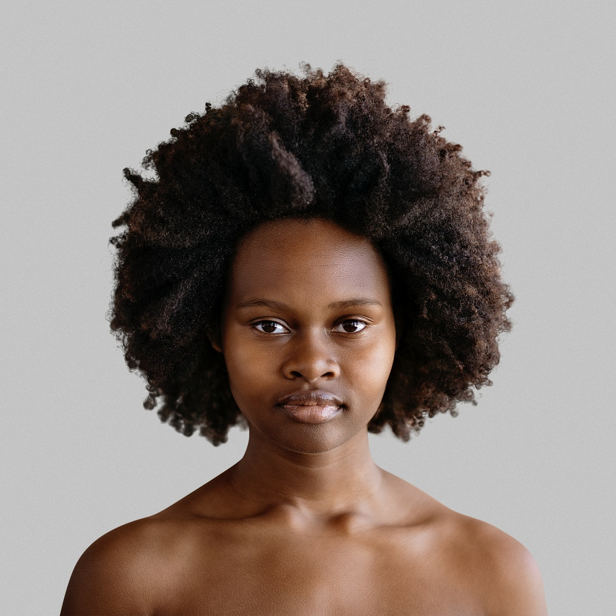 Black afro women nude Beautiful Naked Black Woman With Afro Hair Royalty Free Stock Photo High Resolution Image