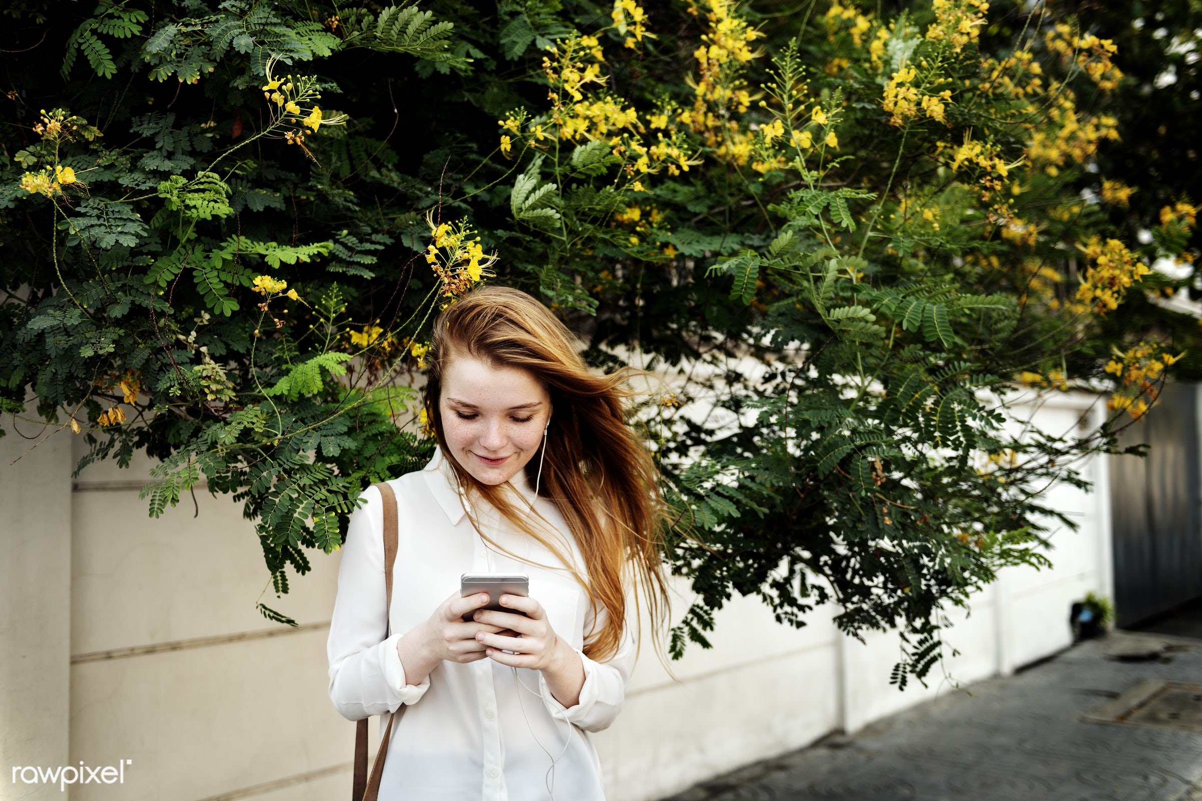 alone, caucasian, cellphone, cheerful, communication, connection, device, digital, expression, face, girl, mobile phone,...
