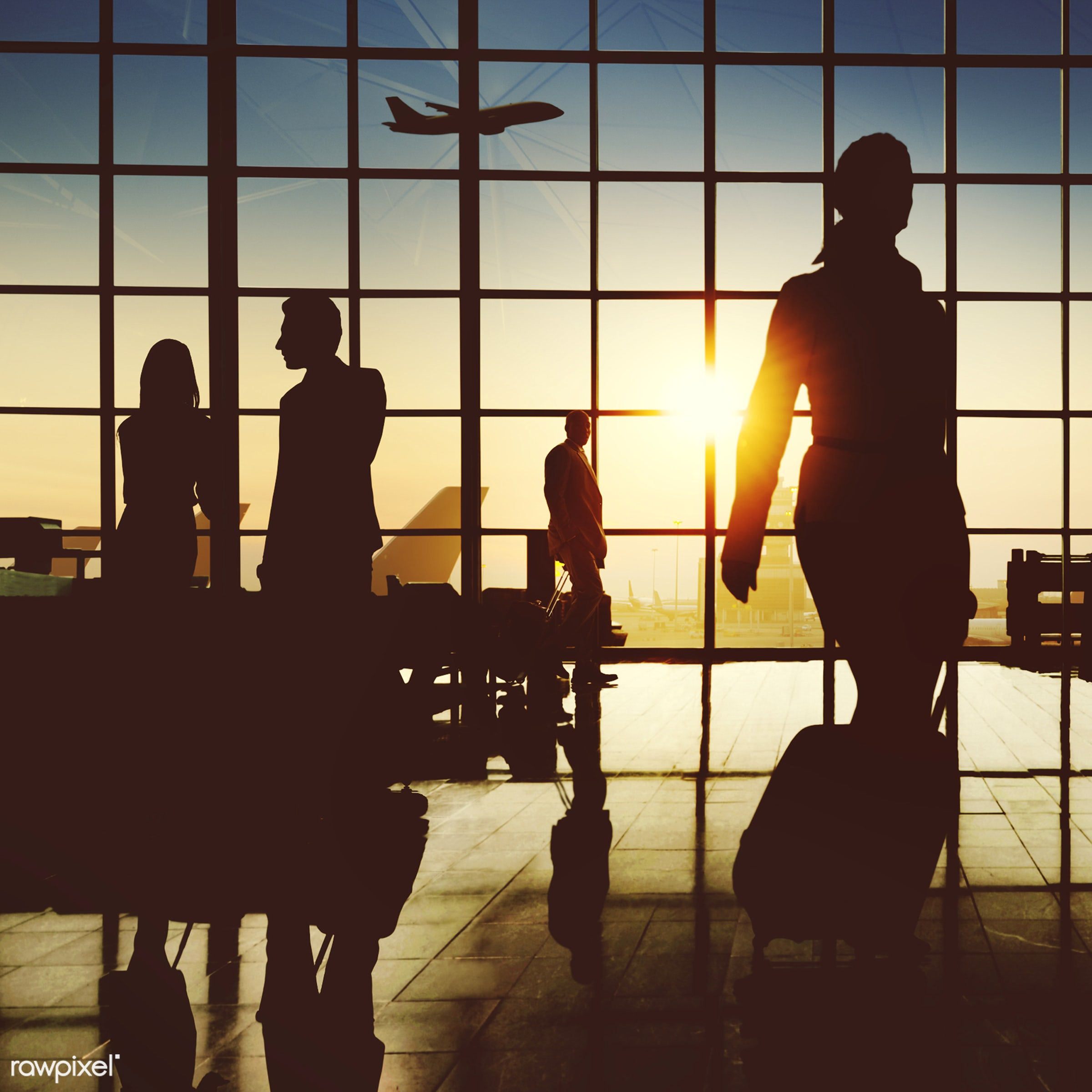 airplane, airport, backlit, building, business, business people, business travel, businessmen, businesswomen, city,...