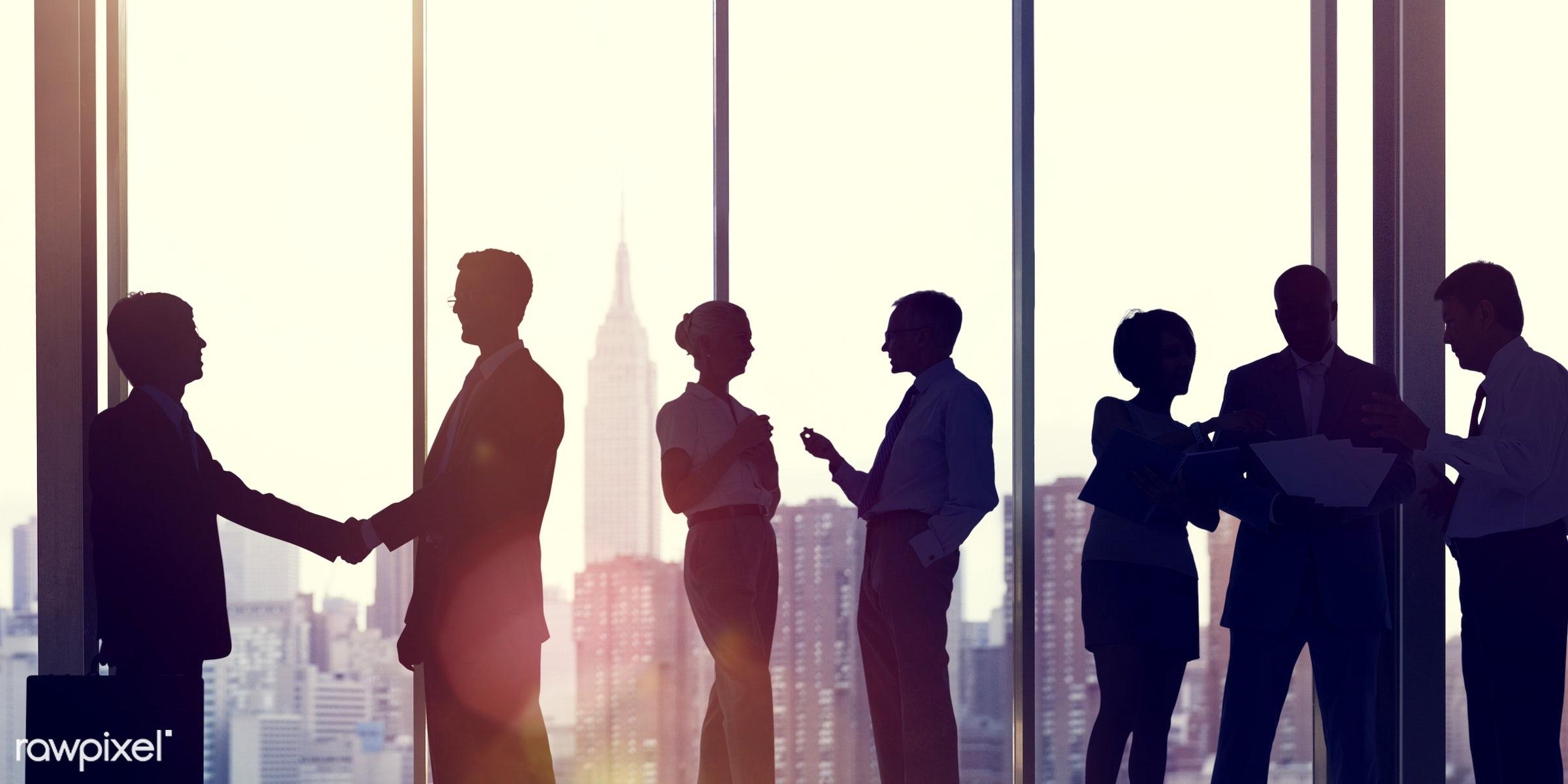 backlit, building, business, business people, businessmen, businesswomen, city, city life, city light, cityscape, colleague...