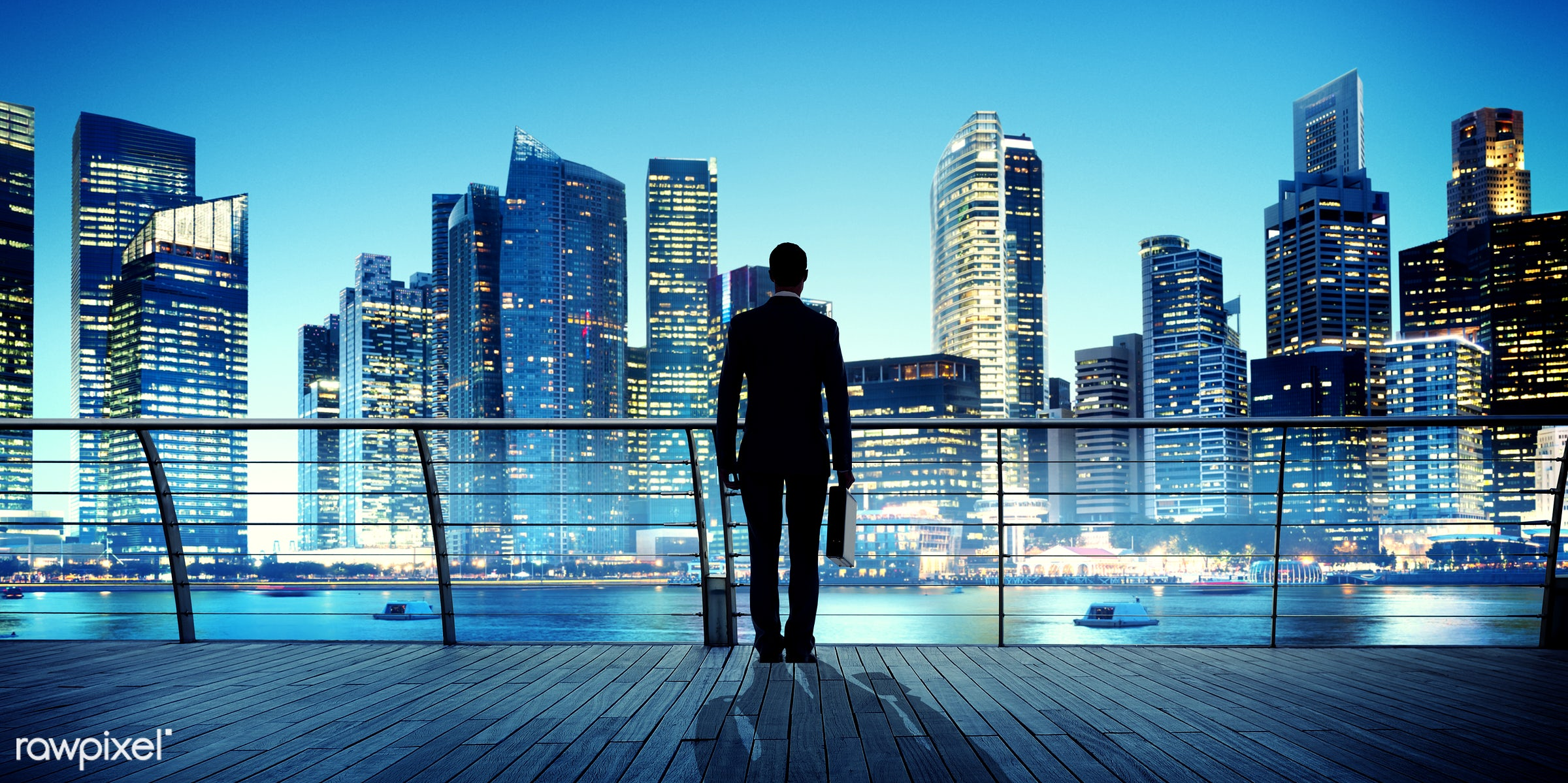 building, business, businessman, city, city lights, cityscape, contemplation, contemporary, corporate, man, modern, night,...