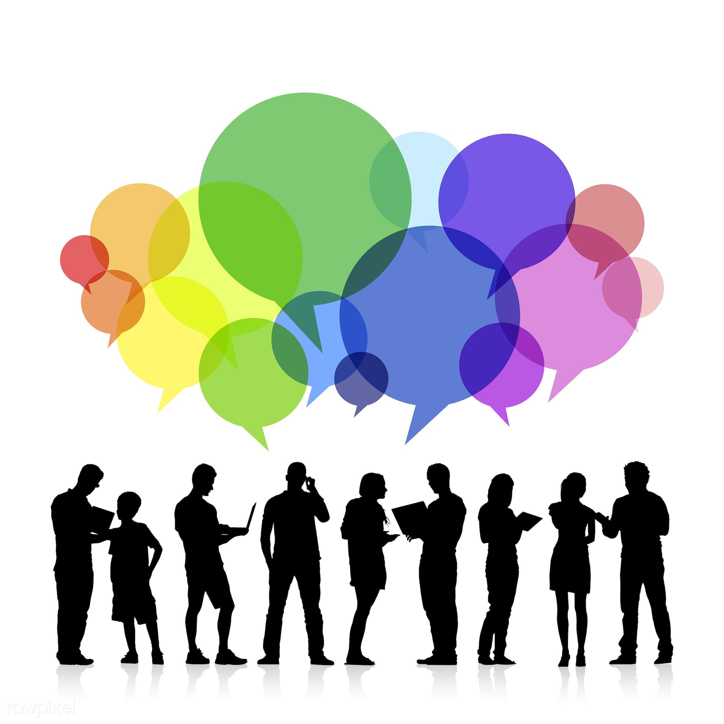 avatar, black, black silhouette, brainstorm, business, business meeting, collection, communication, conversation, creative,...