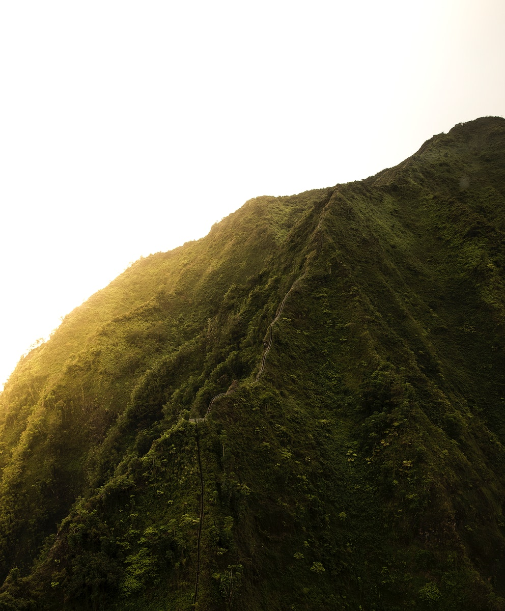 View of sunset at Kaneohe, United States