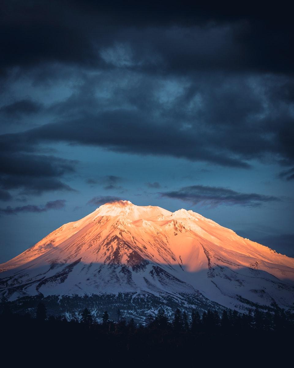 View of Mount Shasta, United States