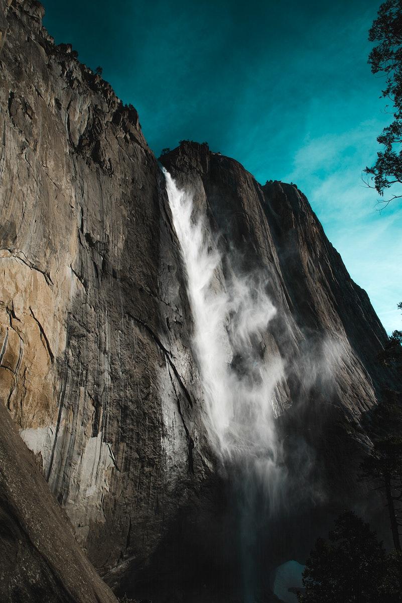 Upper Yosemite Falls in Yosemite National Park, USA