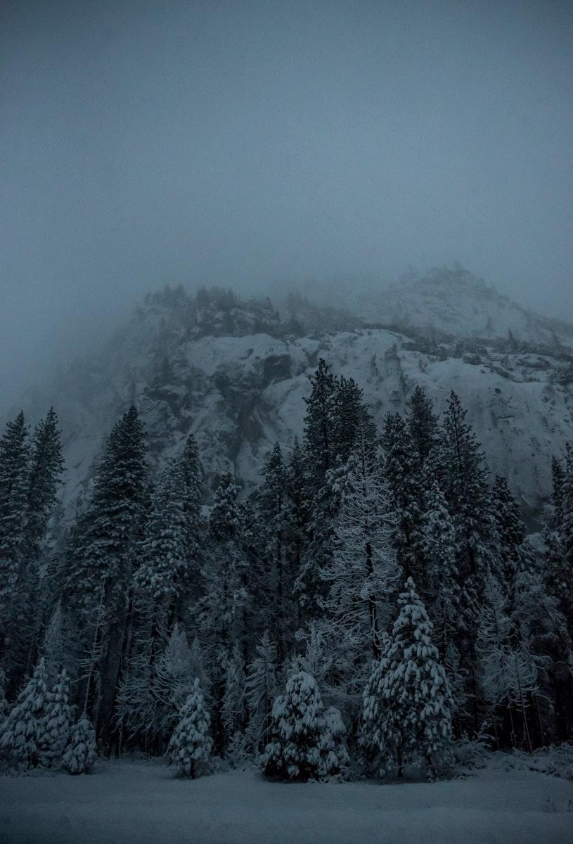 Winter at Yosemite National Park, United States