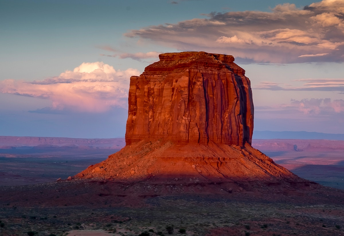 Red rocks in Monument Valley, Arizona, United States