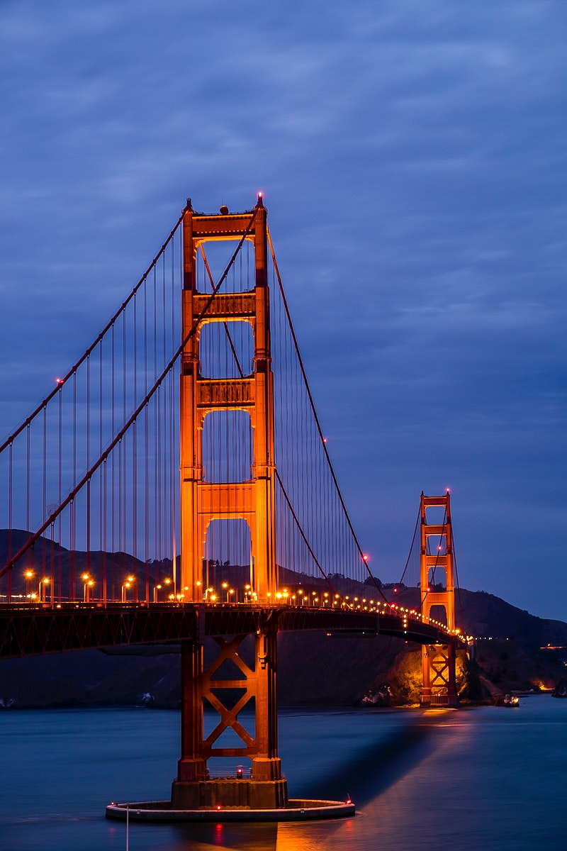 Golden Gate Bridge in San Francisco, United States