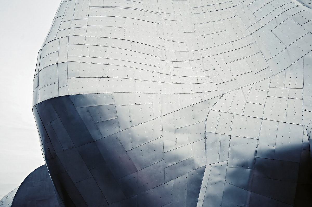 Modern exterior of a building