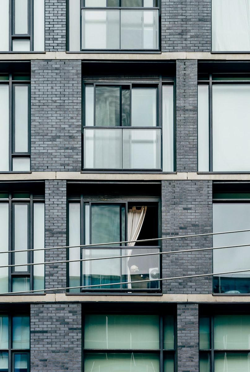 Building exterior in Toronto, Canada