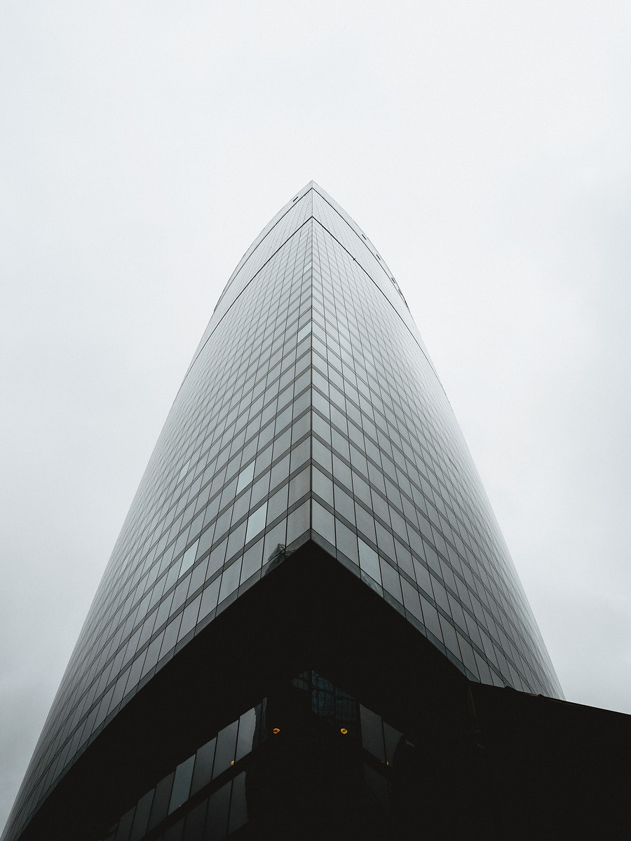 Business building in Moscow, Russia