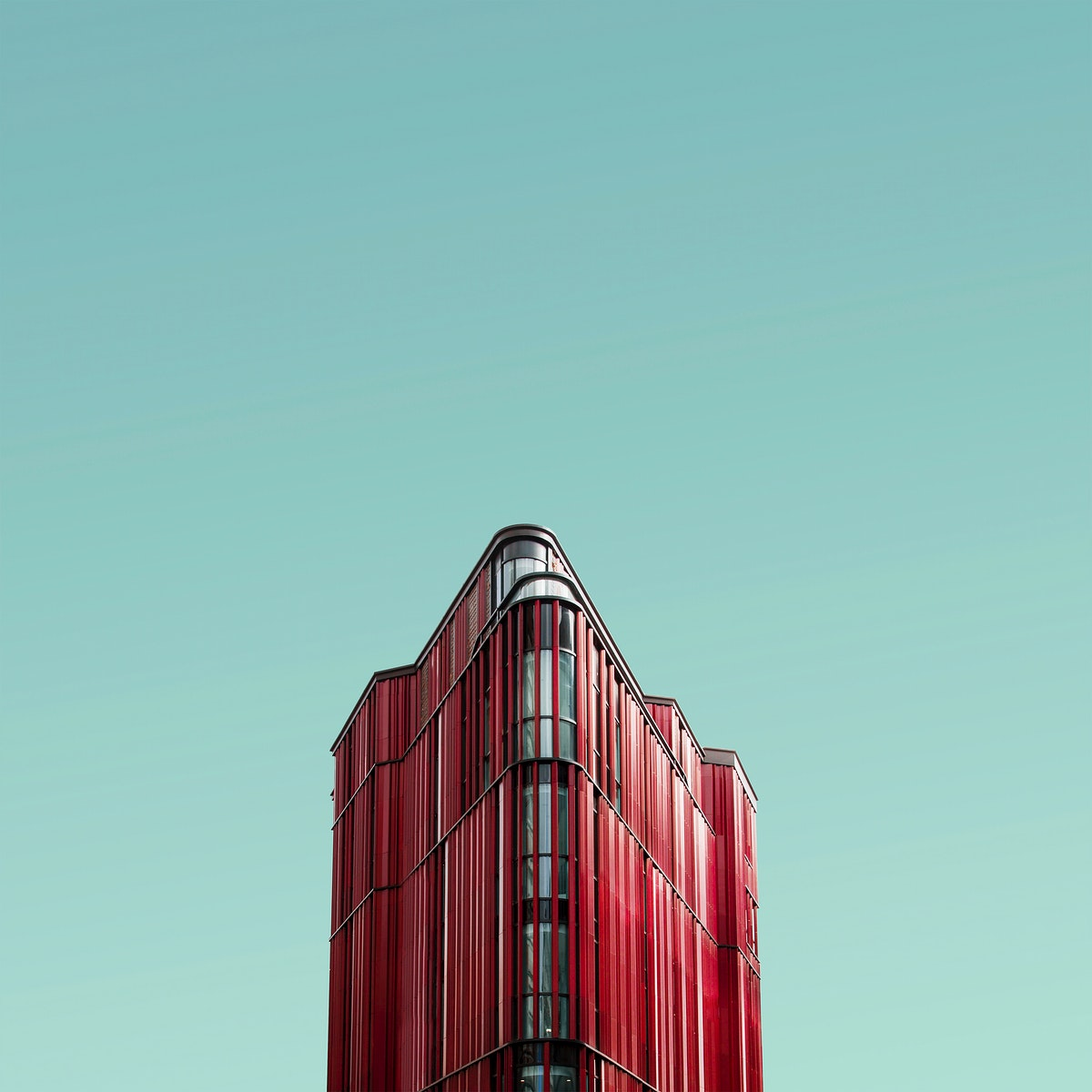 The red monster, modern building at Oxford Street, United Kingdom