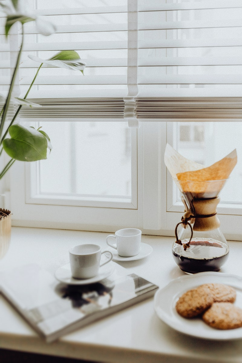 Freshly brewed coffee in the morning. Visit Kaboompics for more free images.