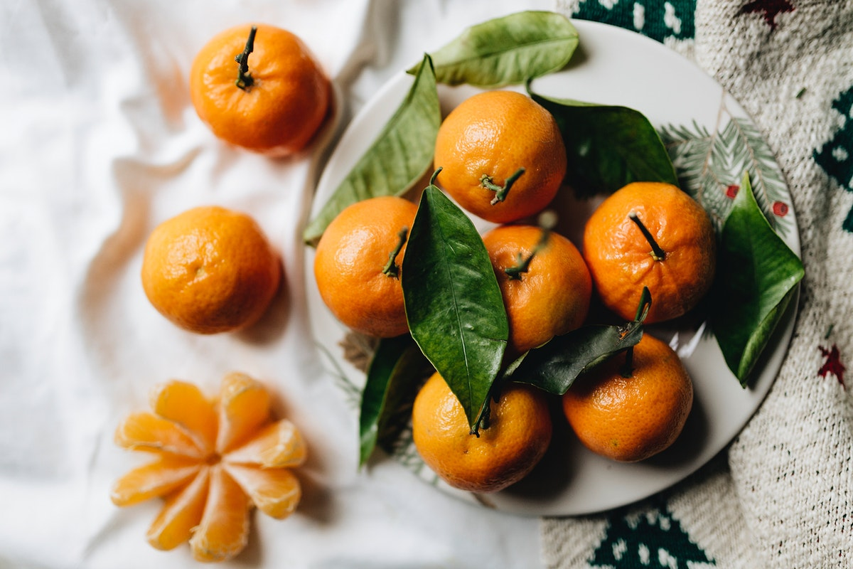 Fresh small clementines. Visit Kaboompics for more free images.