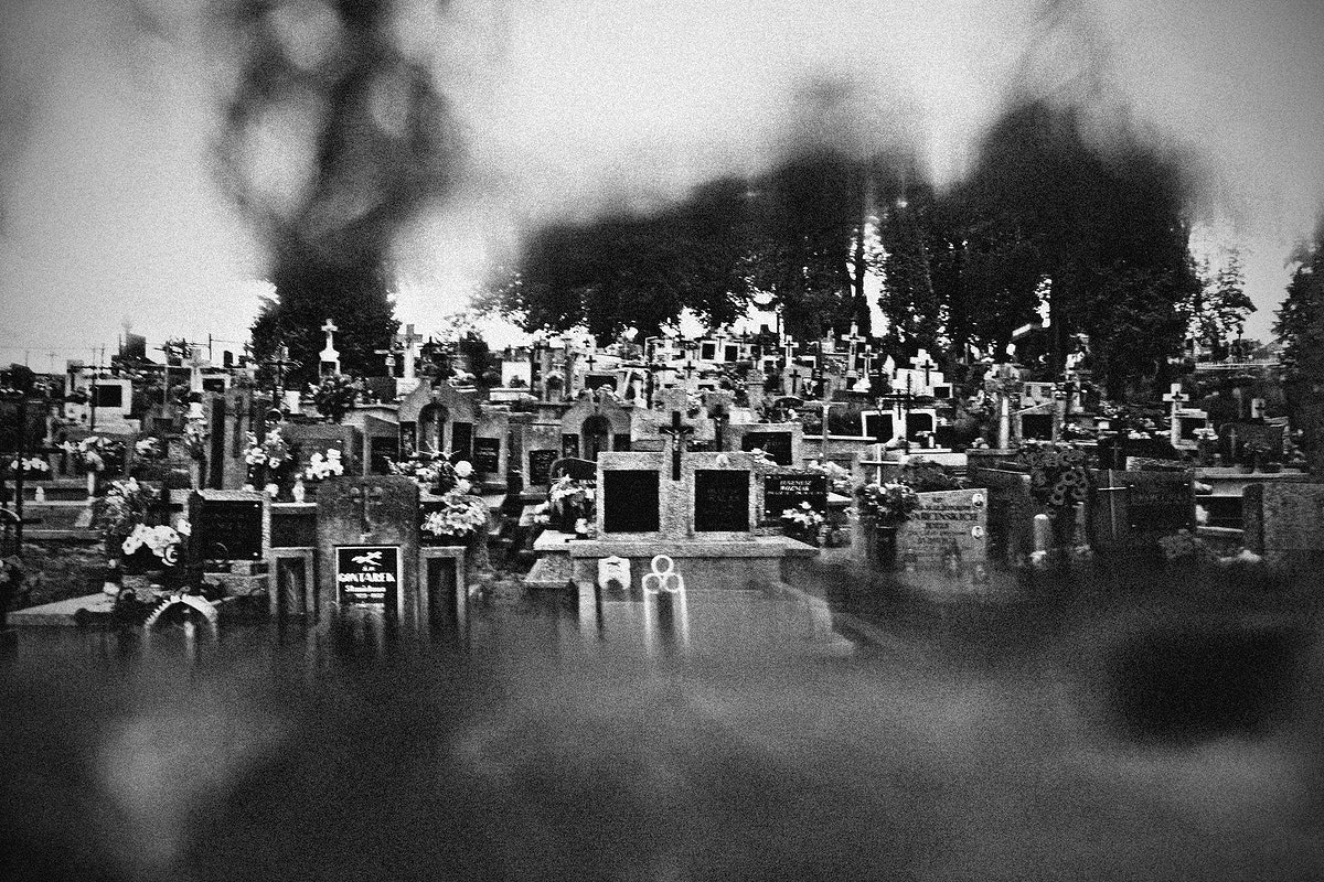 Graves at a graveyard in Poland. Visit Kaboompics for more free images.