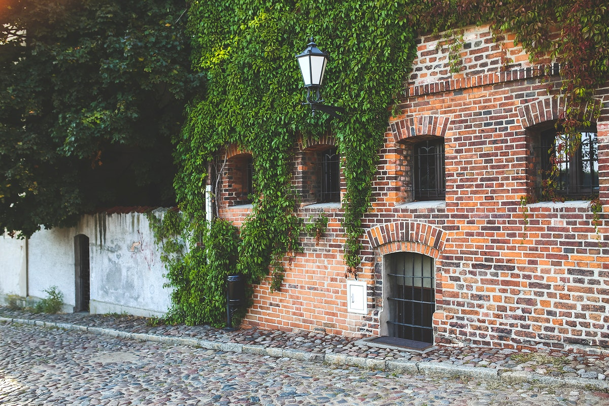 Old brick building in Torun, Poland. Visit Kaboompics for more free images.