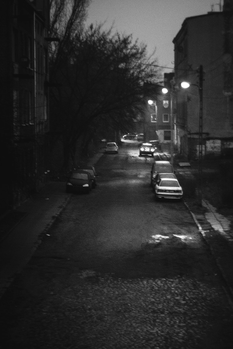 Street by night. Visit Kaboompics for more free images.