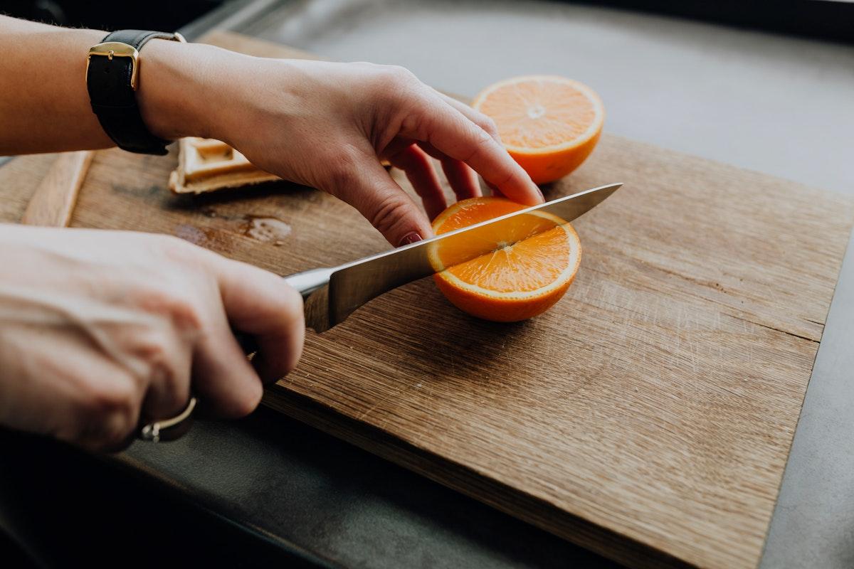 Freshly cut juicy oranges. Visit Kaboompics for more free images.