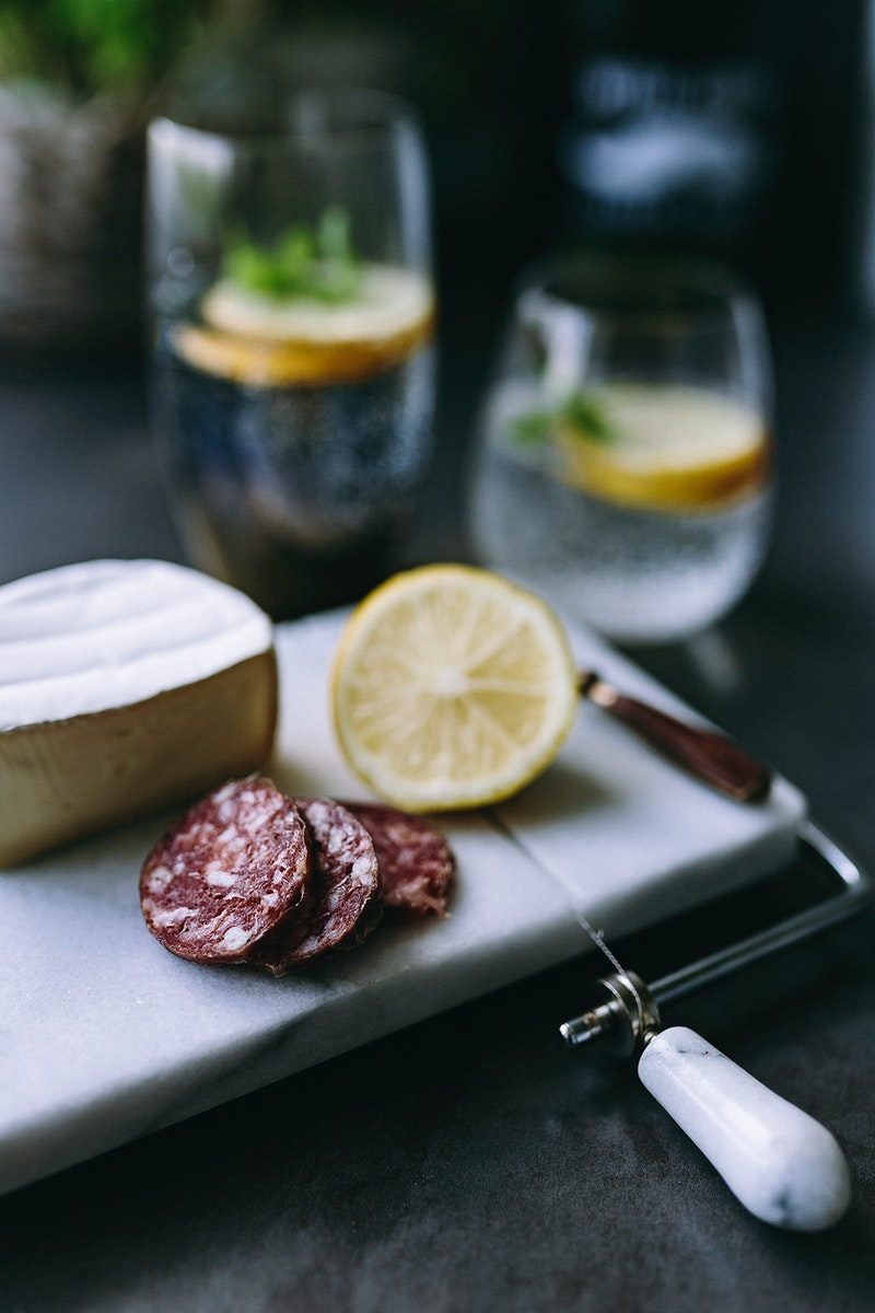 Cheese and cold cuts. Visit Kaboompics for more free images.