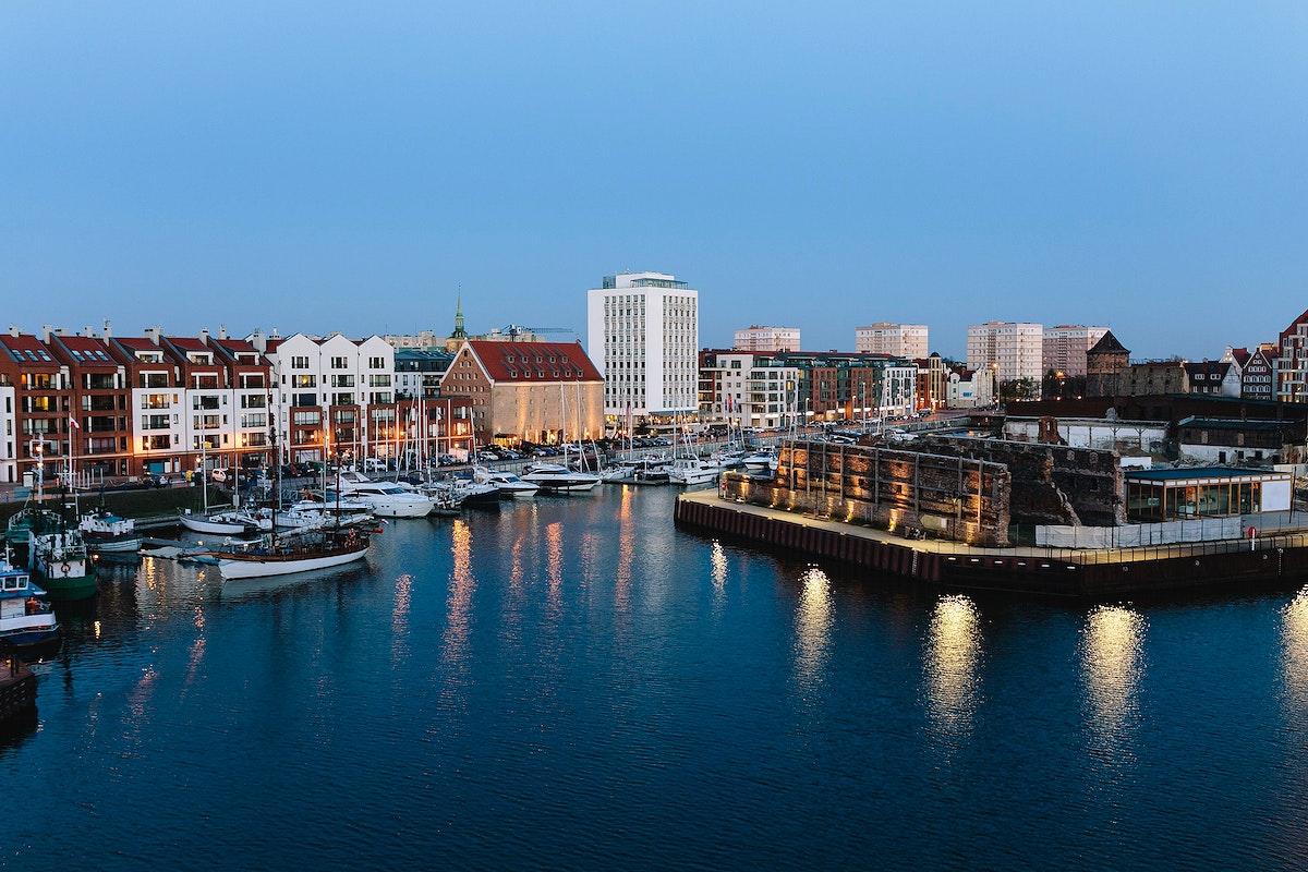 Gdansk harbor, Poland. Visit Kaboompics for more free images.