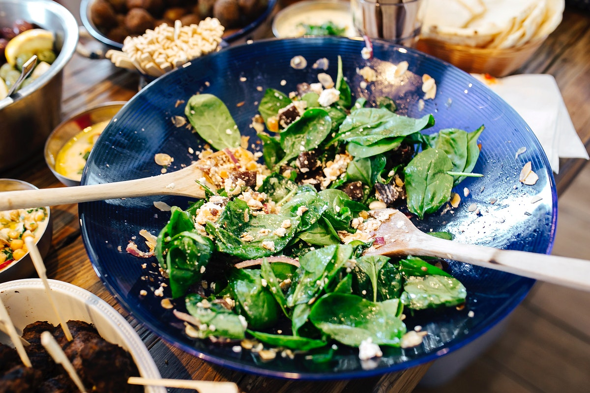 Fresh and healthy salad. Visit Kaboompics for more free images.
