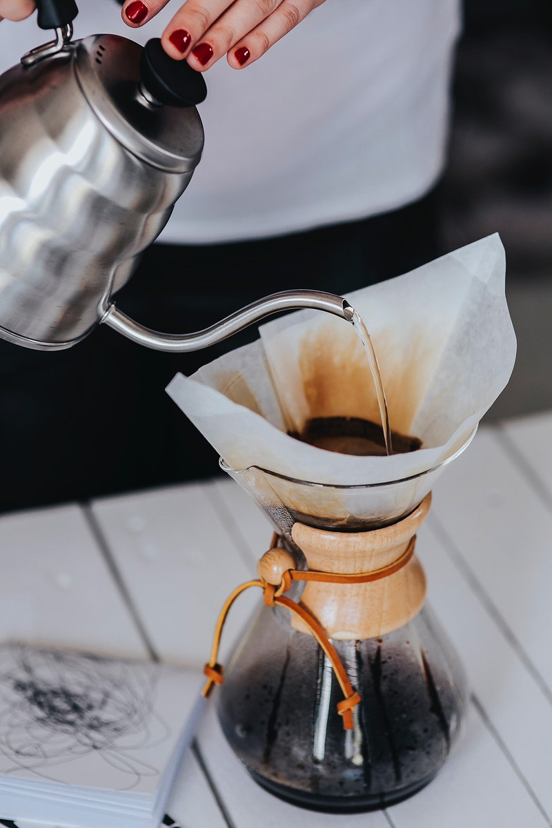 Pour over coffee maker. Visit Kaboompics for more free images.