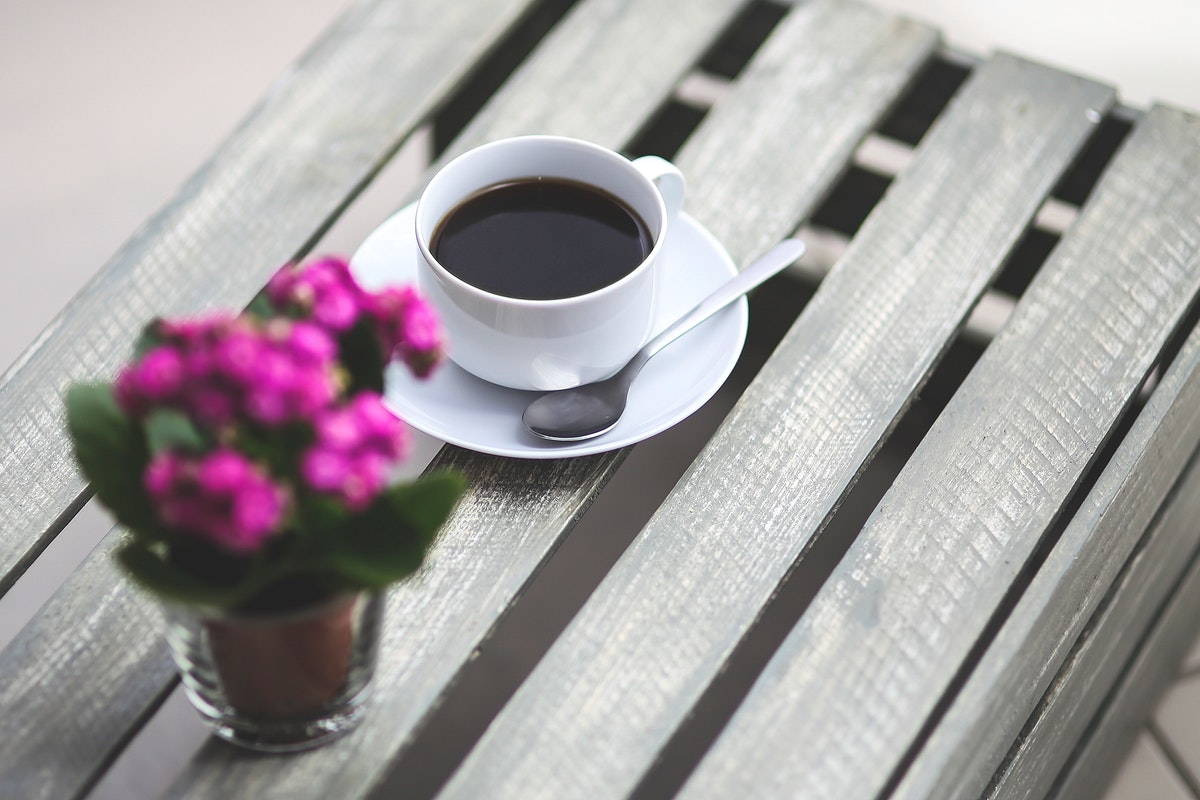 Coffee break at a cafe. Visit Kaboompics for more free images.