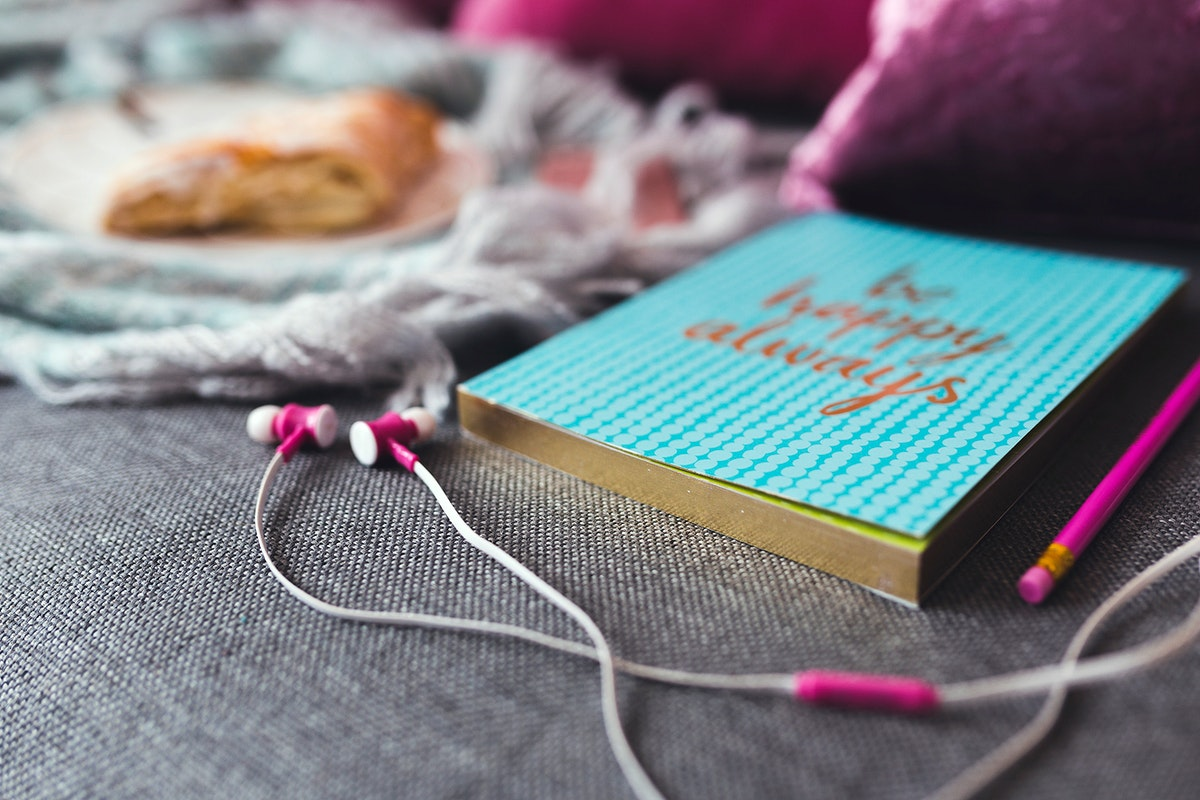Inspirational reading and listening. Visit Kaboompics for more free images.