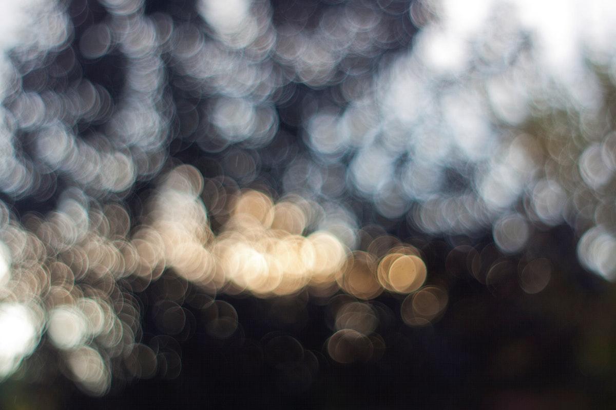 Blurred bokeh lights. Visit Kaboompics for more free images.