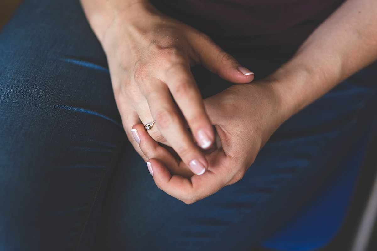 Close up of a womans hands. Visit Kaboompics for more free images.
