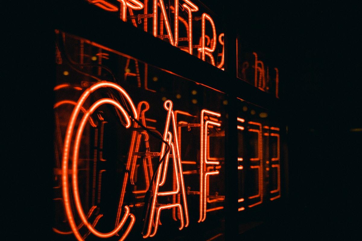 Cafe in London, United Kingdom