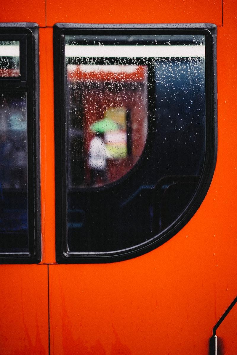 Red double decker bus London, United Kingdom