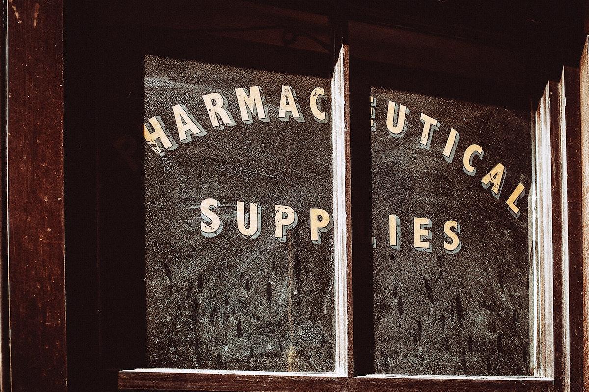 Pharmaceutical supplies store