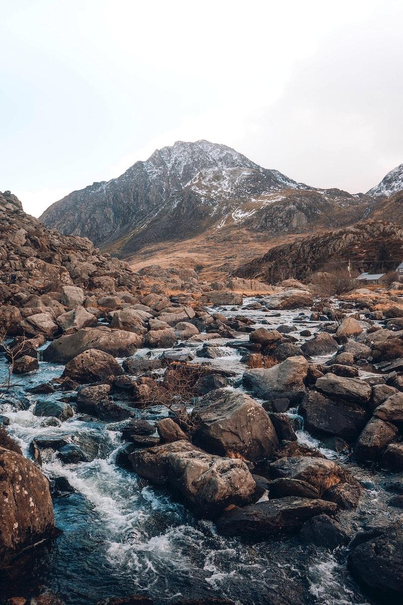 Glen Etive in the Highlands of Scotland
