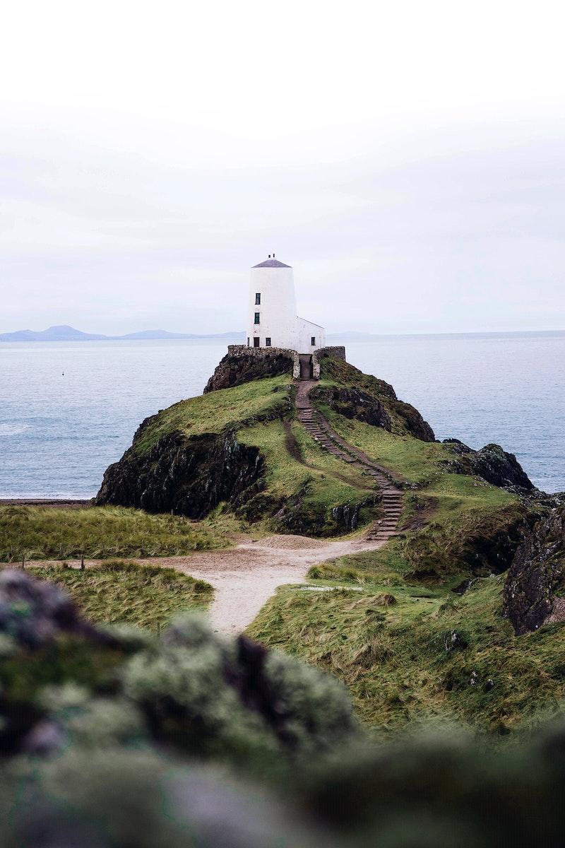 Ynys Llanddwyn or Llanddwyn Island, Anglesey, northwest Wales