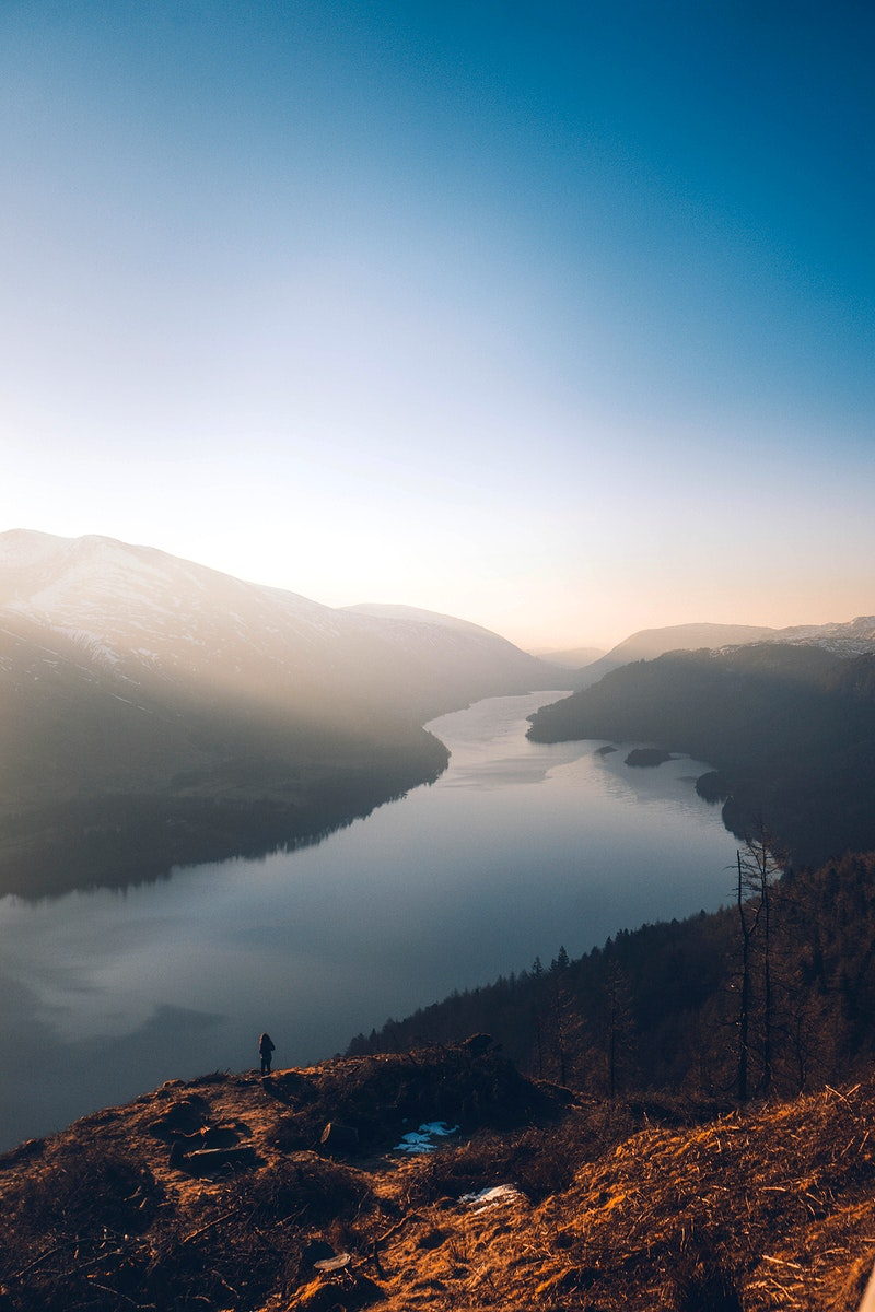 Thirlmere reservoir in the English Lake District, United Kingdom
