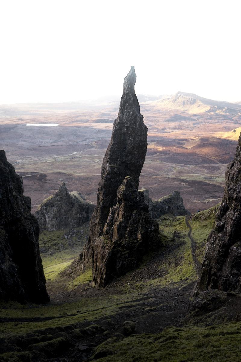The Storr on the Trotternish peninsula of the Isle of Skye, Scotland