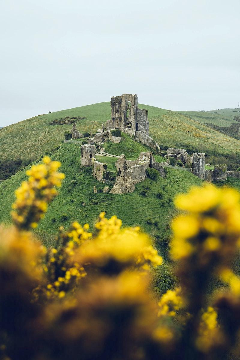 Corfe Castle, Dorset, United Kingdom