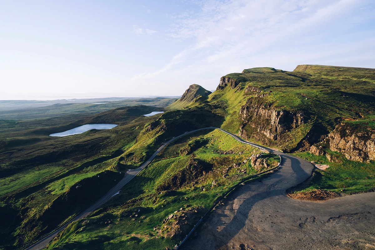The Lake District in North-West England