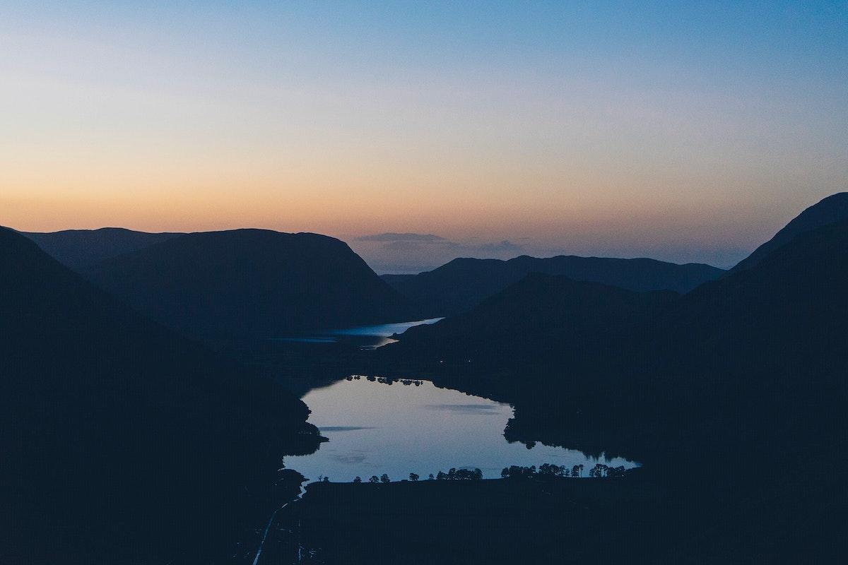 Thirlmere Reservoir, Lake District, England